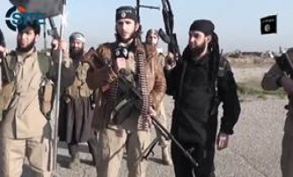 IS Fighters in Tal Afar Airport Declare in Video They Will Never Withdraw