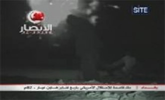 Ansar al-Islam Video of Shelling a US Base in Baghdad