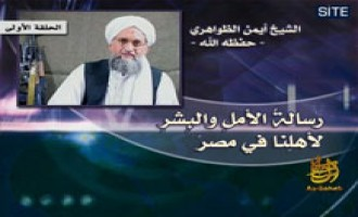 Zawahiri Releases Third Audio in Series on Egypt