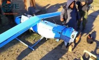 IS-Linked 'Amaq News Releases Video of Iranian-Made UAV Downed in Ninawa