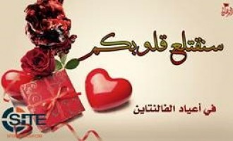 Pro-IS Group Incites for Attacks on Valentine's Day