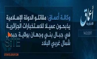 "'Amaq Reports IS Fighters ""Slaughtering"" a Spy in Algeria's Jijel Province"
