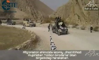 IJU Releases Video of Joint Operation with Taliban in North Afghanistan