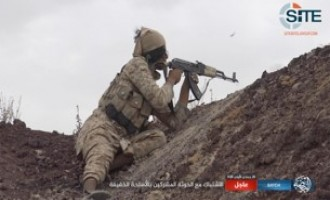 IS Division in Yemen Claims Killing and Wounding Dozens of Houthi Elements in Qifa