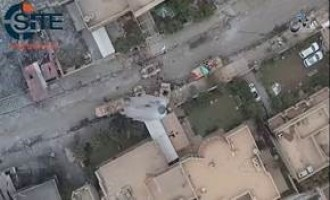 'Amaq Video Shows Weaponized UAV Attacks by IS on Iraqi Army Vehicles in Mosul