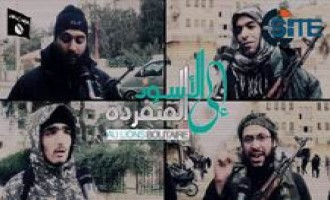 IS Interviews French-Speaking Fighters in Video about Charlie Hebdo Attack