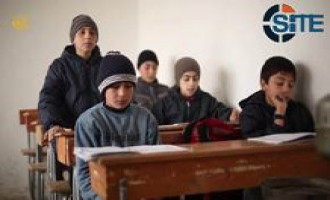 IS Reports on School in ar-Raqqah, Interviews Belgian Child