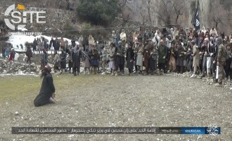 "IS' Khorasan Province Stones ""Adulterer"" in Nangarhar, Releases Photos"