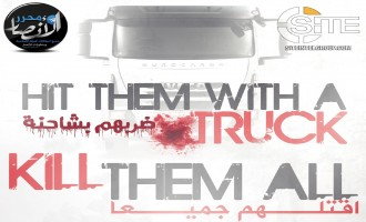 Pro-IS Group Calls for Vehicular Attacks with Trucks in Poster