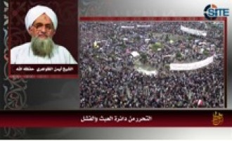 Update: Zawahiri Praises Chechen Fighters As Models for Jihad, Reflects on Egyptian Revolution