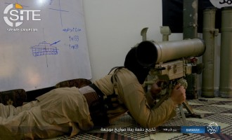 IS Photo Report from Hasakah Shows Guided Rocket Training, Attacks