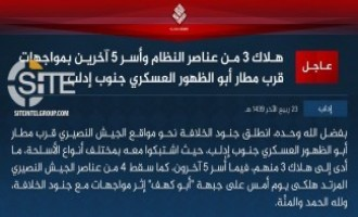 IS Claims Rare Activity in Idlib, Clashing Against Syrian Army
