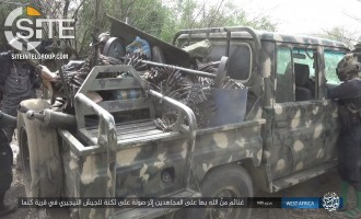 IS' West Africa Province Publishes Photos from Raid on Nigerian Army Barracks in Kanama