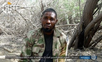 IS' West Africa Province Publishes Photos of Nigerian POW and War Spoils Captured in Lake Chad Area