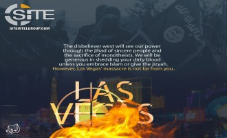 Pro-IS Group Reminds Westerners of Las Vegas Shooting in Warning Poster