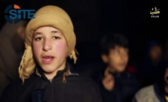 Kids in Aleppo Voice Desire to Burn Coalition Pilots in IS Video