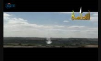 Brigades of Abdullah Azzam Releases Video of Rocket Attacks on Israel