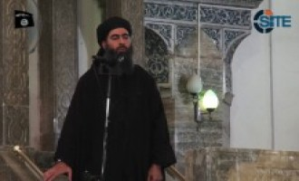 Abu Bakr al-Baghdadi Appears in Video, Delivers Sermon in Mosul