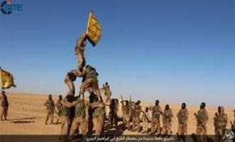 IS' Anbar Province Photo Report Shows Graduation of New Class