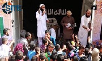 "Civilians in ar-Raqqah Laud ""Caliphate"" in IS Video Recorded on Eid al-Fitr"