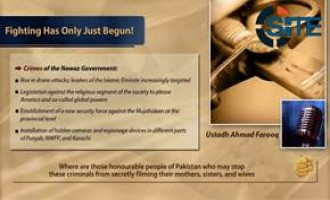 AQIS Former Deputy Leader Incites for Jihad in Pakistan, Sahab Allegedly Acquires Footage from Fighters in Pakistan Army