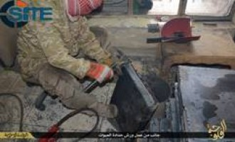 IS Photo Report Shows IED Casing Manufacture in al-Fallujah