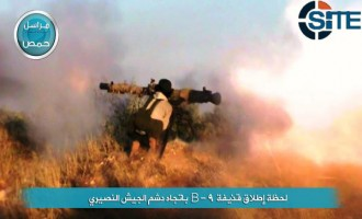 Nusra Front Pictures Show Group Bombing Syrian Army Outpost in Homs