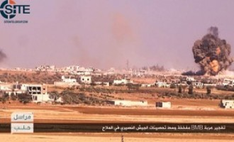 NF Claims Attack on Regime Forces in al-Mallah, Aleppo