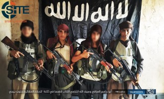 IS Claims Suicide Raid on Tribal Militia in Beiji, Photo Shows Executors as Children