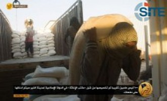 ISIS Shows Relief Efforts in Deir al-Zour