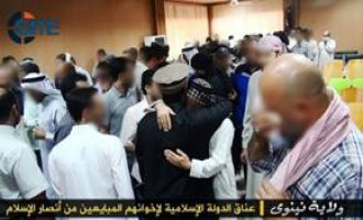 ISIS Pictures Show Pledge of Allegiance by Members of Ansar al-Isalm