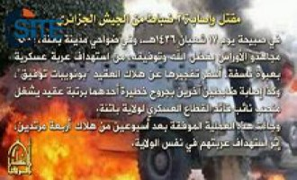 AQIM Claims Attacks on Algerian Officers and Guardsmen in Batna