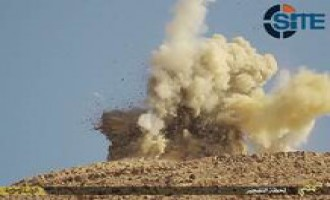 IS Photo Report Shows Bombing of Shrines in Tadmur (Palmyra)