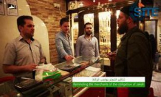 IS Video Focuses on Compulsory Charity from People in its Territories