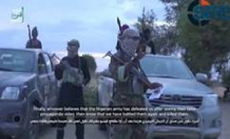 "Video Shows IS's ""West African Province"" in Combat, Fighters Touting Victories"