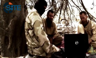 AQIM's Sahara Branch Releases Video Interview with South African and Swedish Hostages