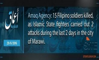 IS' 'Amaq Reports 15 Philippine Soldiers Killed in Two Days in Marawi, Jihadist Gives Details
