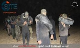"Gaza-based Army of Islam Publishes Photo Report on ""Nidal al-'Ashi Training Course"""