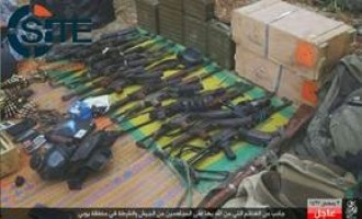 IS' West Africa Province Publishes Photos of War Spoils from Yobe Attack