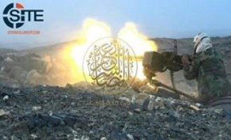 AQAP Photographs Attacks with Heavy Guns on Houthi Fighters in al-Bayda'