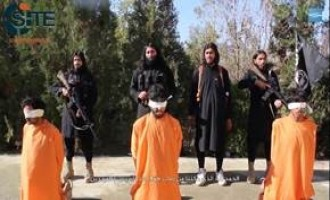 IS Media Affiliate Releases Video of Children and Adults Executing Alleged Taliban Spies, Afghan Soldiers