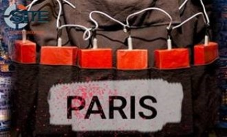 "IS Supporters Disseminate Image Threatening Paris with ""Explosions"""