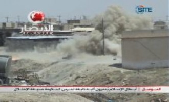 Ansar al-Islam Video of Bombing an Iraqi Vehicle in Mosul