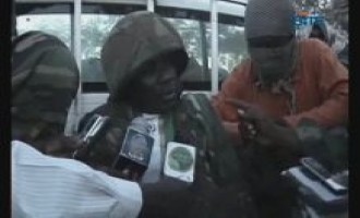 GIMF Distributes Video of Captive Burundian Soldier