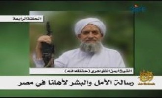 Zawahiri Criticizes Democracy, Calls US Origin of Muslims' Issues
