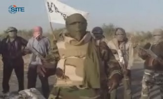 Boko Haram Releases Video of Weapons Taken After Police Station Raid