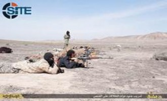 IS Publishes Photos of Sniper Training in Damascus