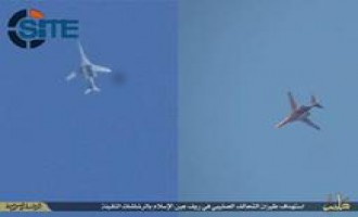IS Reports Targeting Coalition Aircraft in Kobani Countryside with Heavy Guns