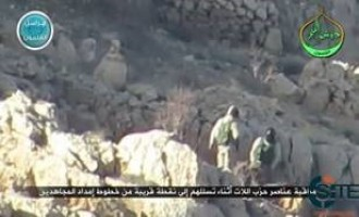 NF Releases Video of Ambush on Hezbollah Forces in Arsal Hills, Qalamoun