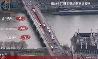 Pro-IS Group Promotes London Attack with Infographic